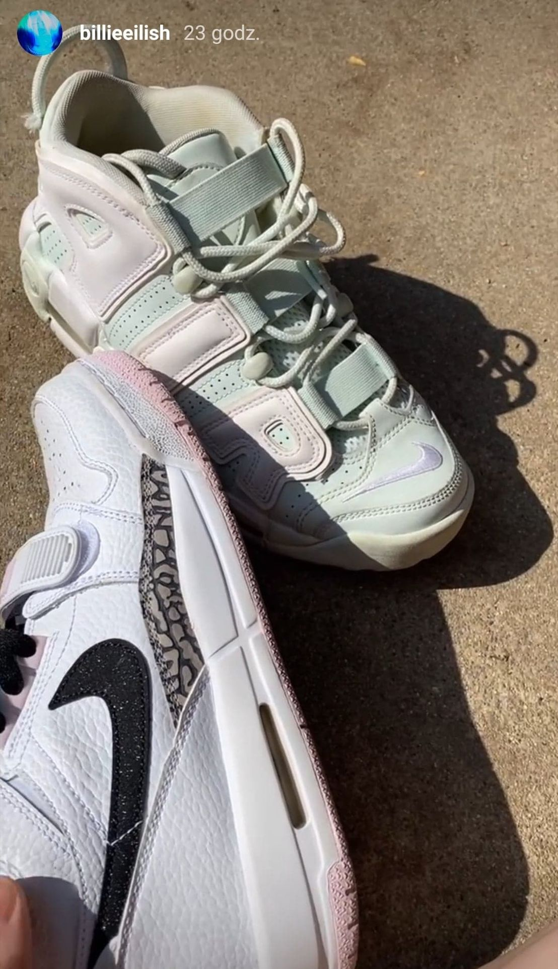 Sportowe buty Billie Eilish