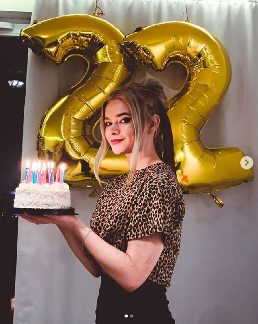 Julia Wróblewska świętuje urodziny.