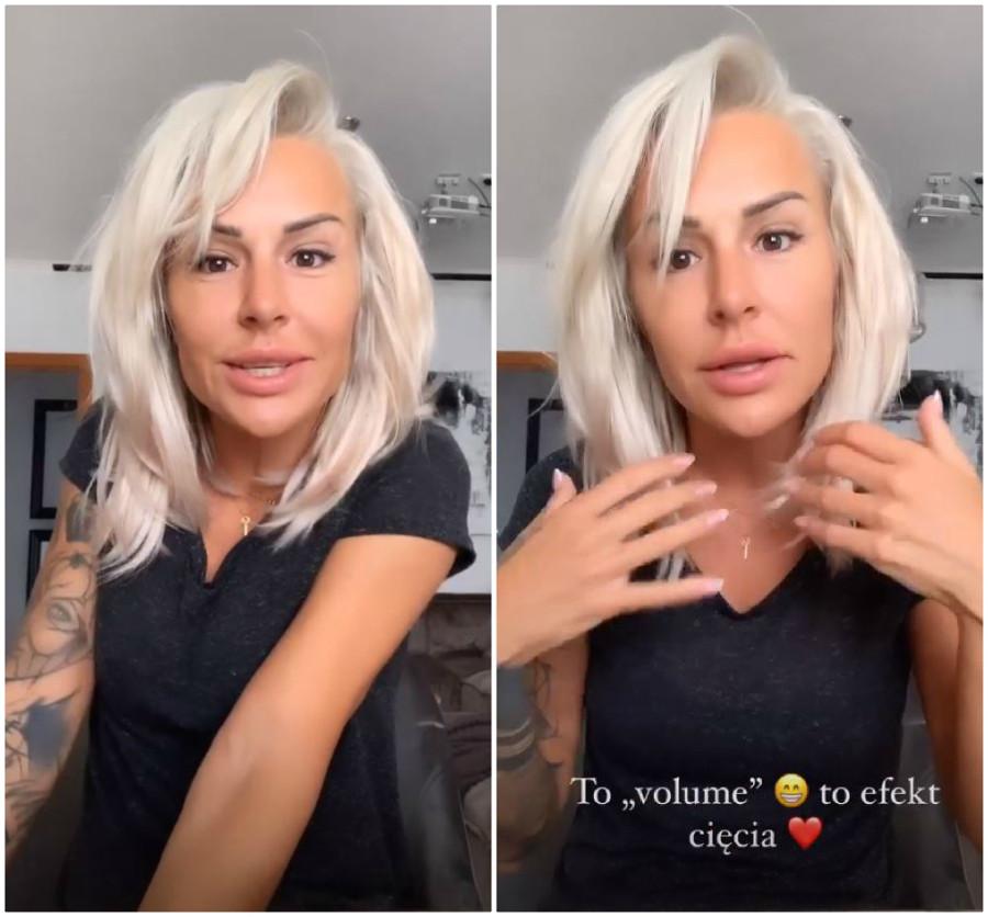 Blanka Lipińska zachwyca się nowymi włosami.