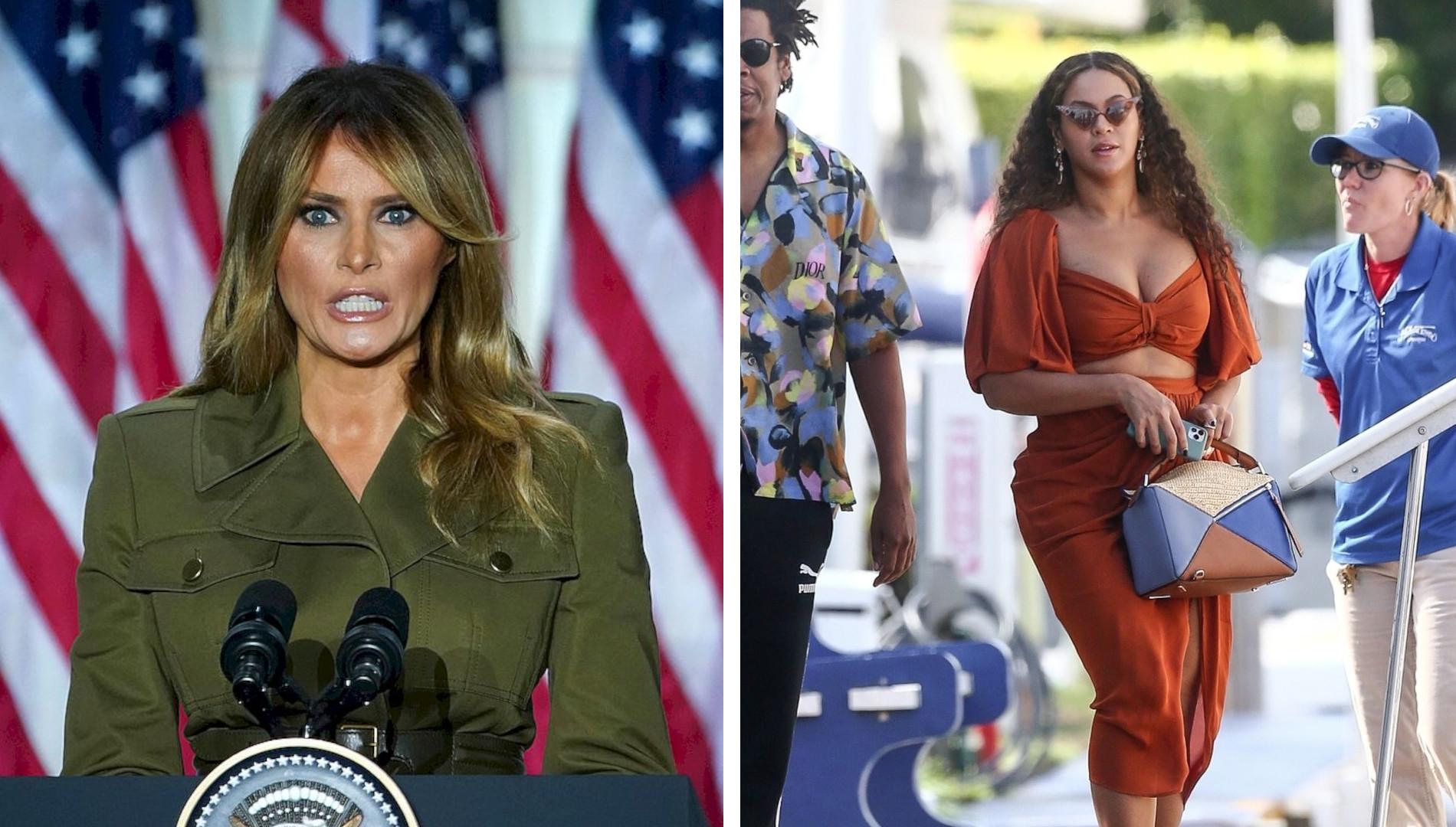 Melania Trump ZAZDROŚCI Beyonce. Kolejne KOMPROMITUJĄCE nagranie
