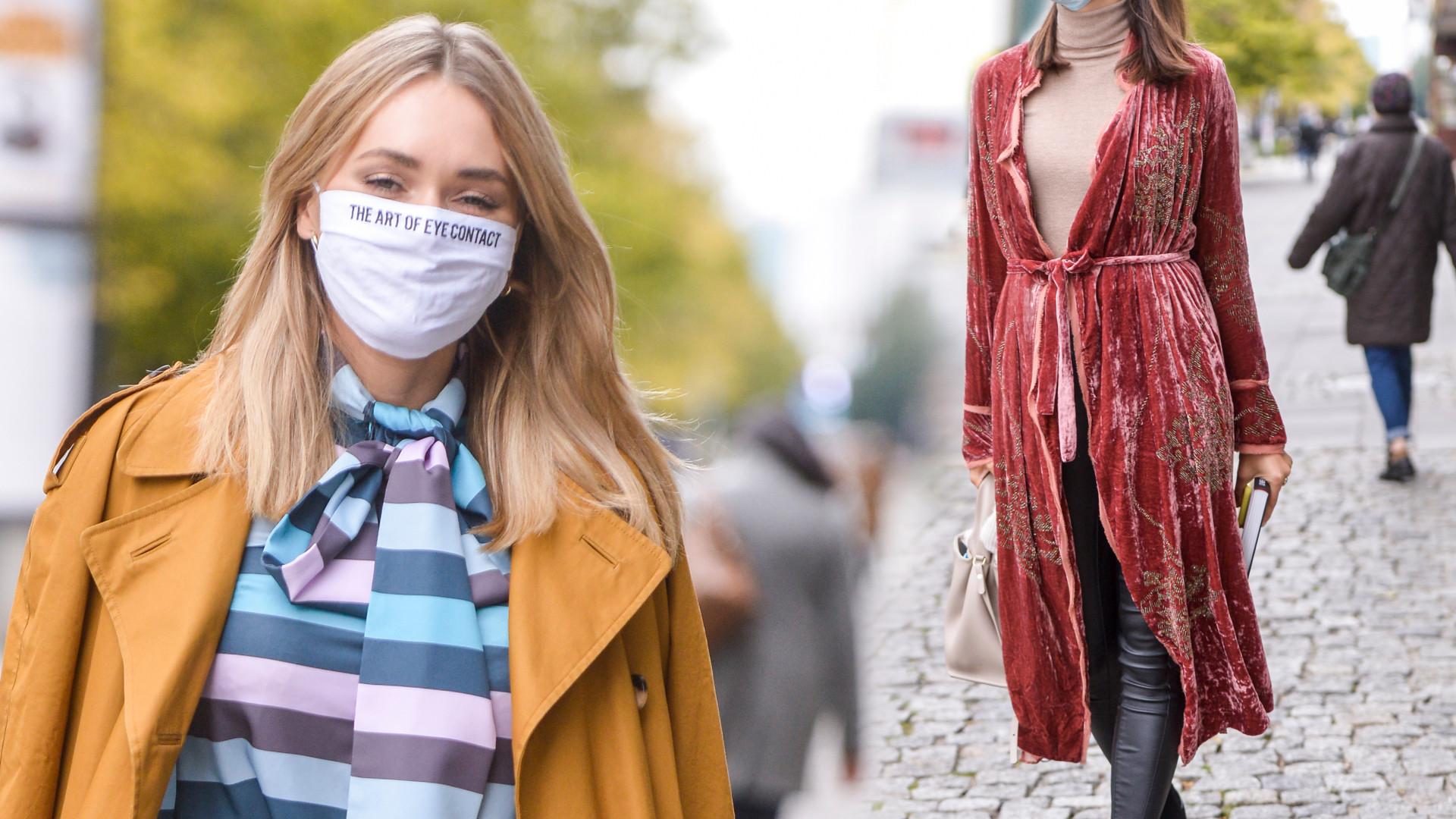Gwiazdy w jesiennych stylizacjach: Paulina Krupińska i Magdalena Lamparska pokochały kolory