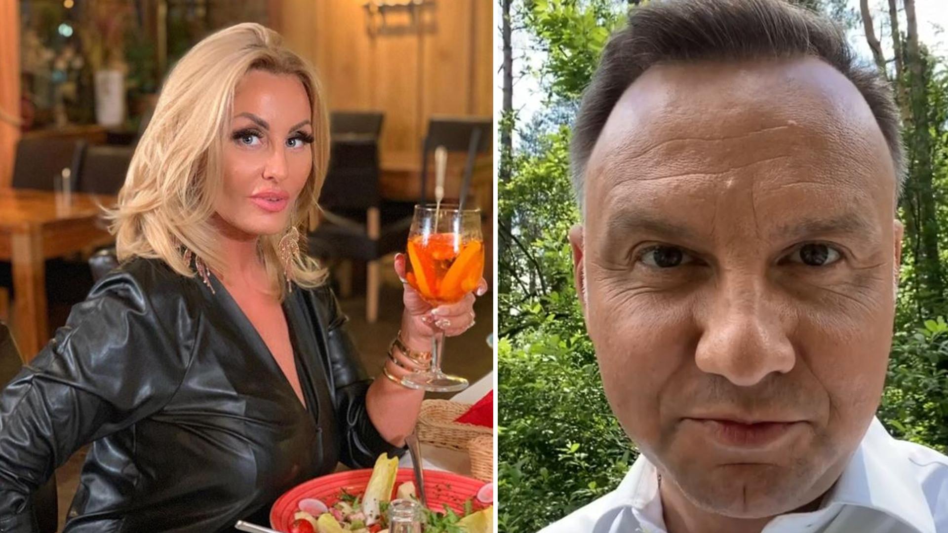 """Dagmara Kaźmierska na spotkaniu z Prezydentem: """"Nie jestem pijana"""""""
