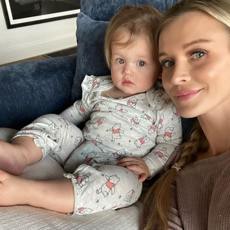 Joanna Krupa z córką Ashą.