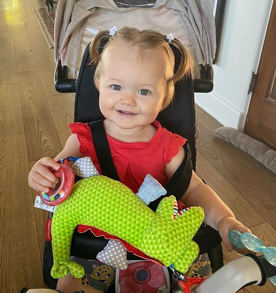 Córka Joanny Krypy niedługo będzie miała rok.