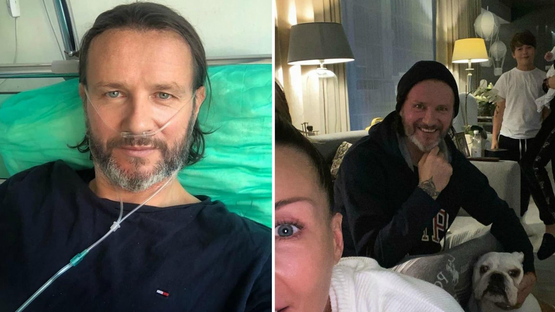 """Radosław Majdan wyszedł ze szpitala. Małgorzata ZDRADZIŁA, jak teraz wygląda ich życie. """"Zalecenie lekarza"""""""