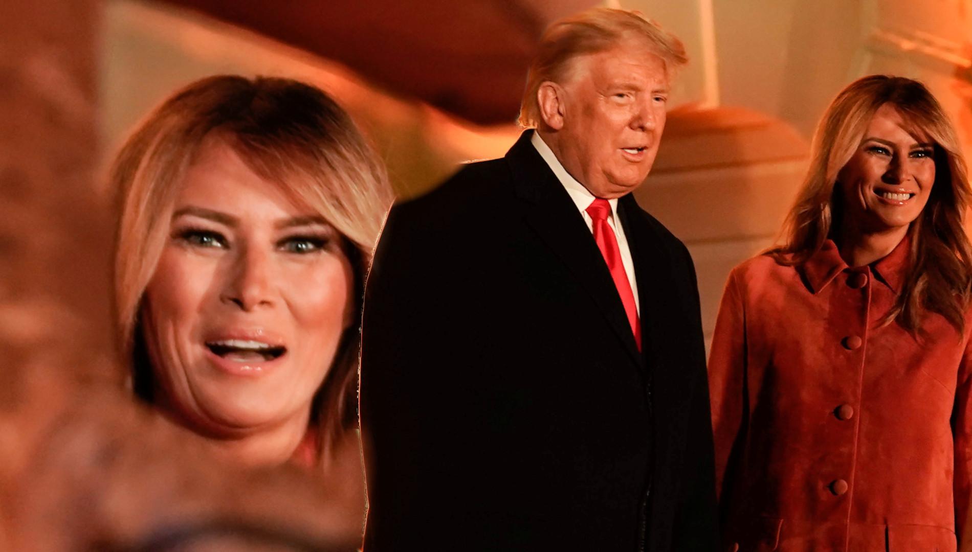Stylowa Melania Trump OCIEPLA WIZERUNEK. Zorganizowała Halloween