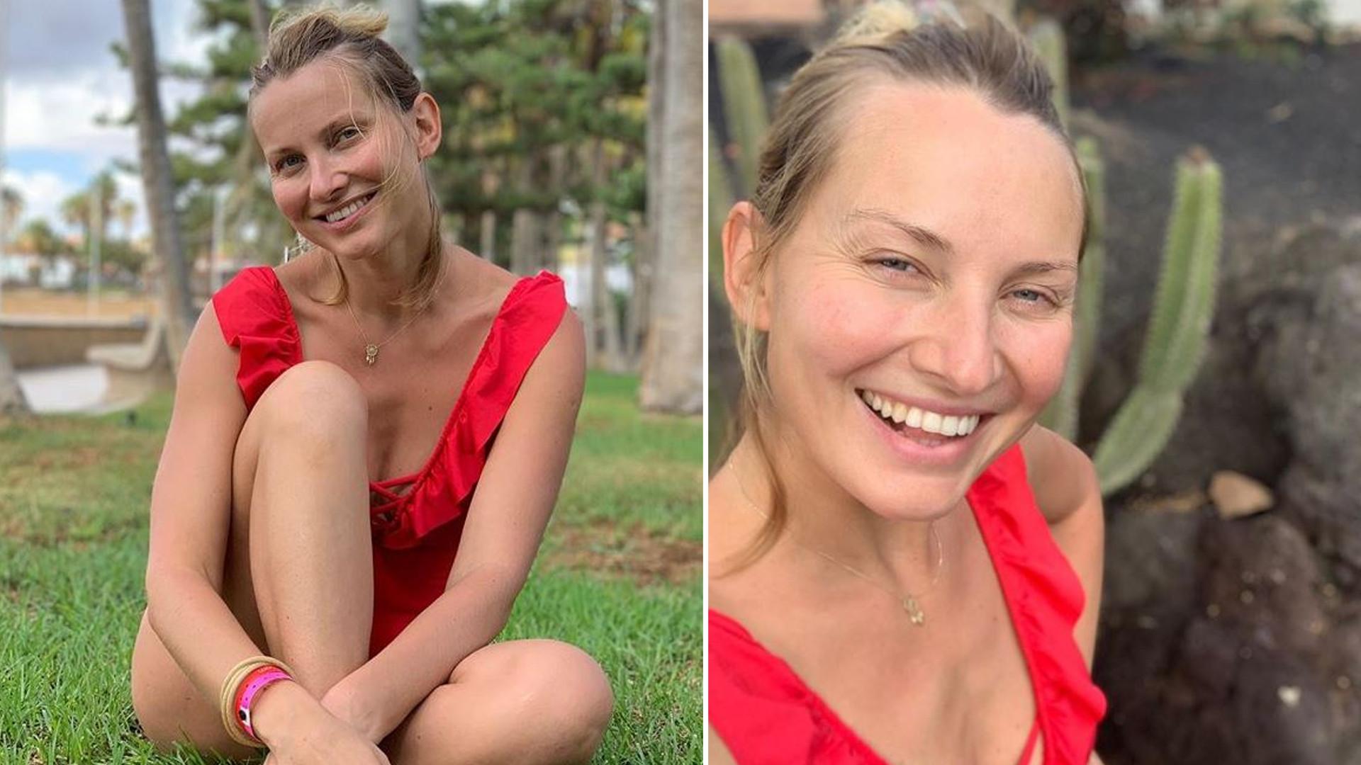"""Joanna Moro SKRYTYKOWANA za chodzenie topless przy dzieciach: """"Trochę to niesmaczne"""""""
