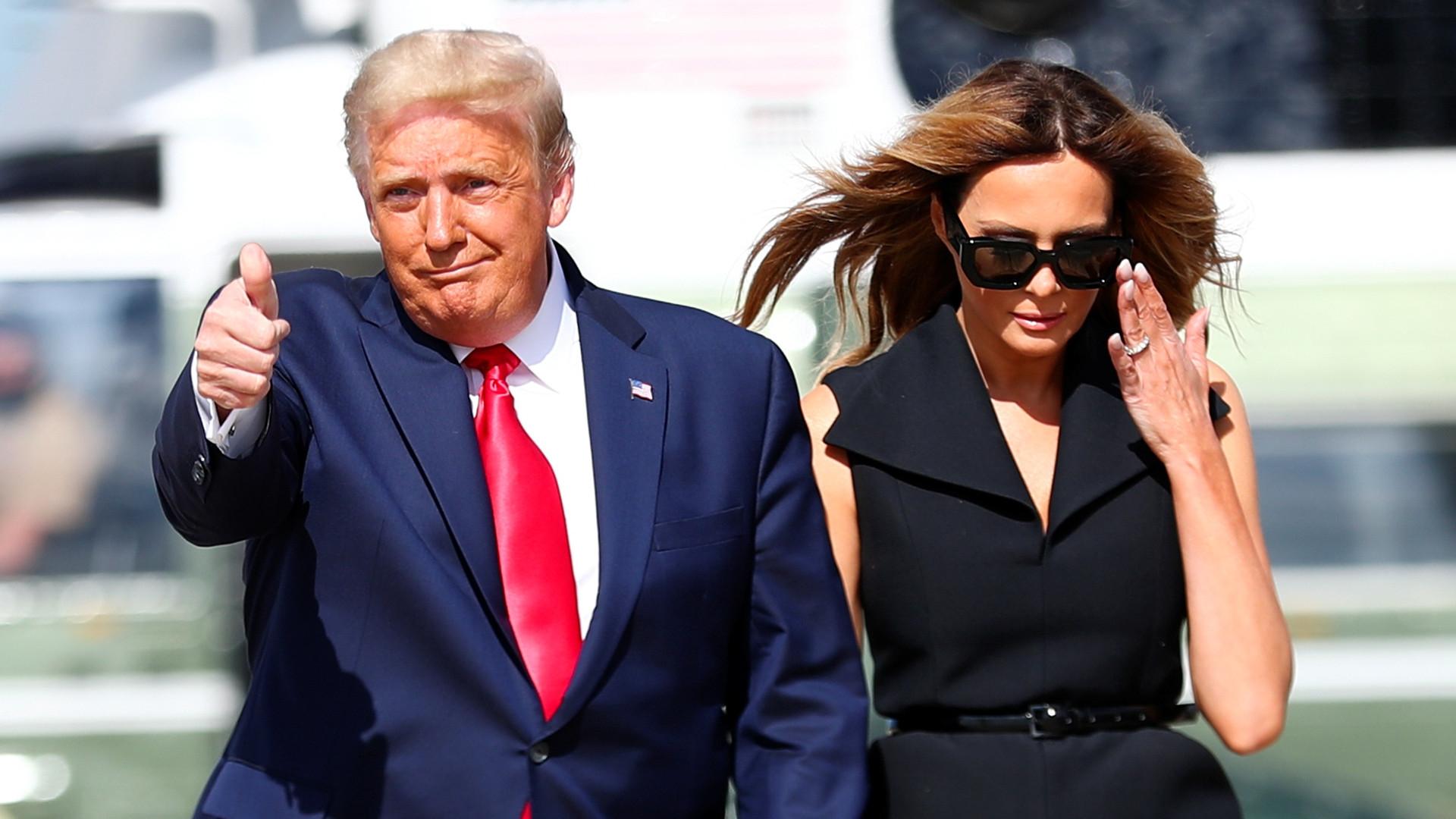 Nowe zdjęcie Melanii Trump udowadnia, że została zastąpiona SOBOWTÓREM?