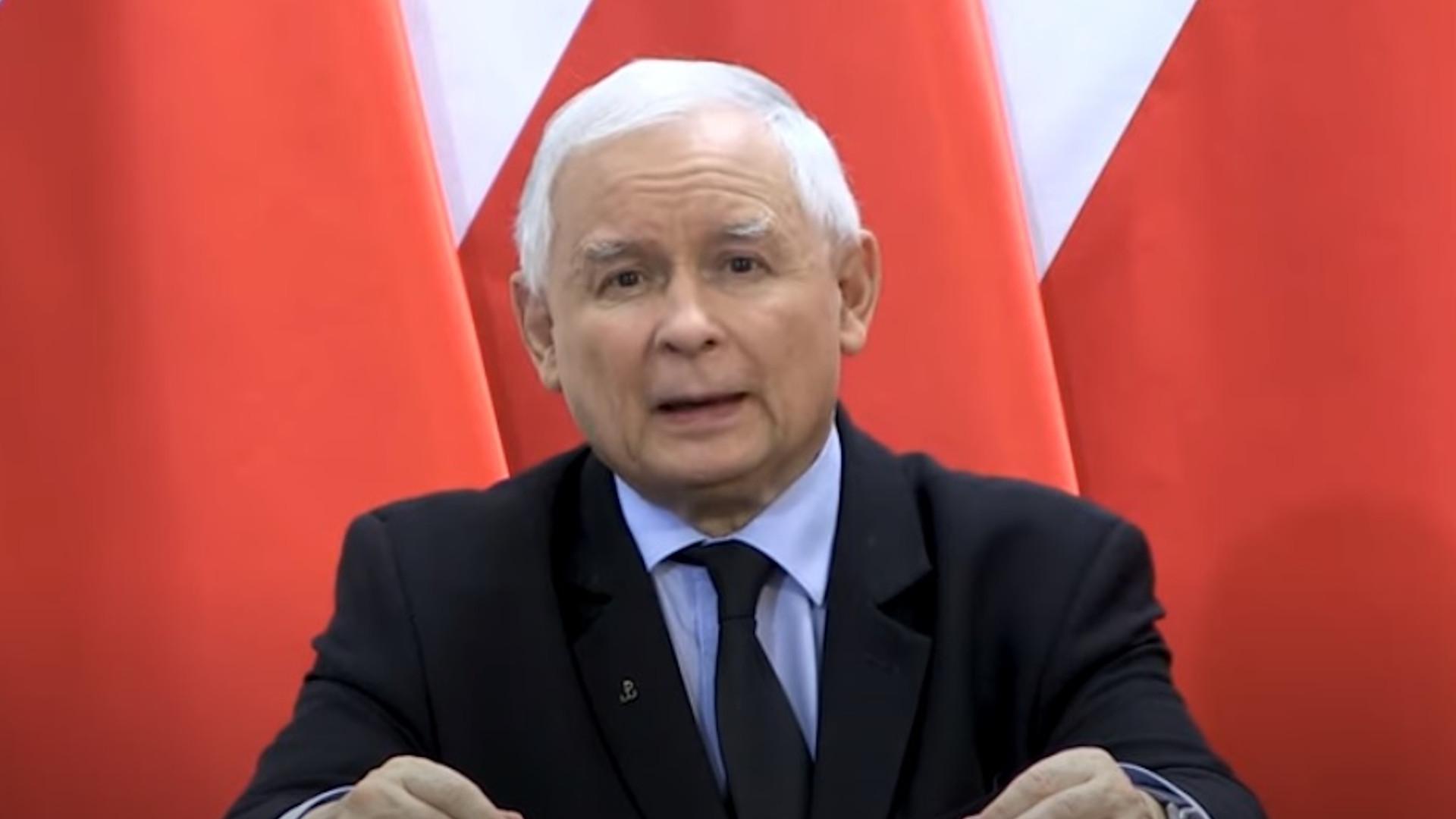 Jarosław Kaczyński wystąpienie.