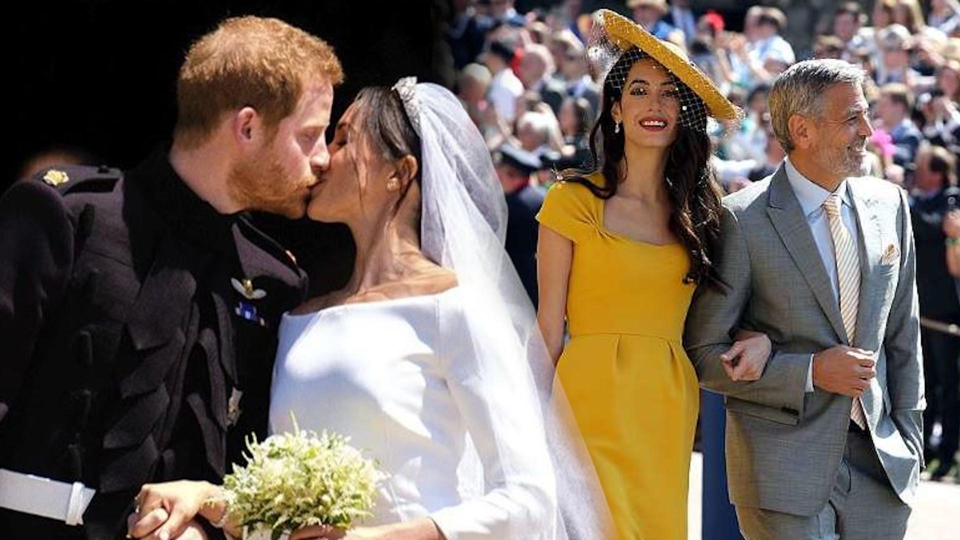 George i Amal Clooney nie znali się z Sussexami przed ŚLUBEM!