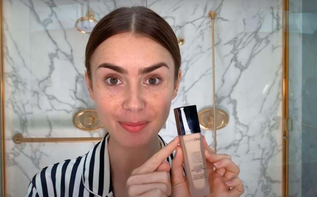 Lily Collins uczy, jak zrobić makijaż w francuskim stylu.