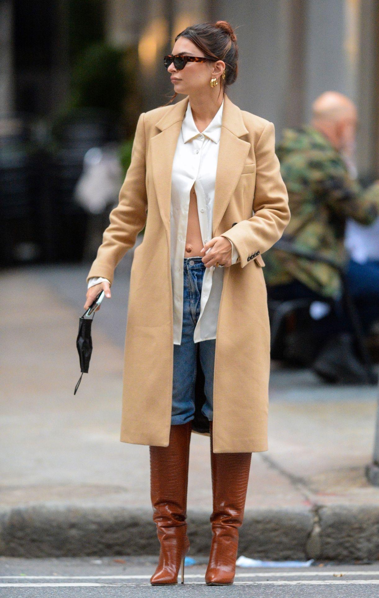 Emily Ratajkowski w Nowym Jorku