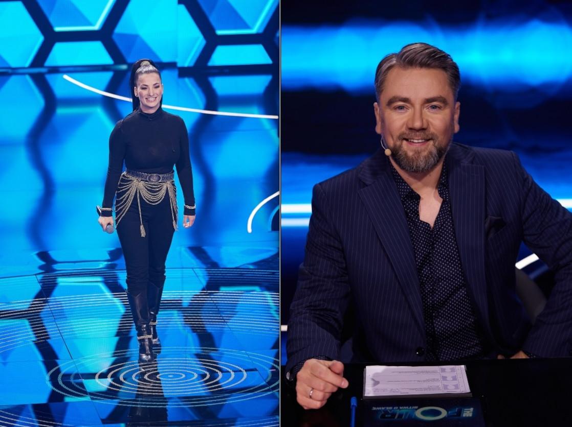 Magdalena Krzemień i Kuba Badach, fot. Polsat/Krystian Szczęsny