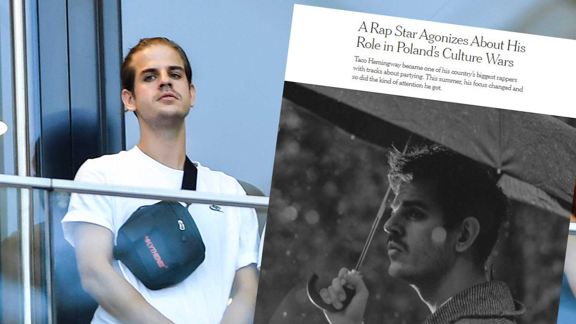 Taco Hemingway udzielił wywiadu New York Timesowi. Nawiązał do obecnej sytuacji w Polsce