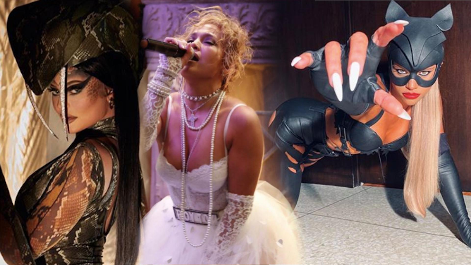 Halloween 2020. Gwiazdy w tym roku ZASZALAŁY z kostiumami. Która zrobiła to najlepiej? (ZDJĘCIA)