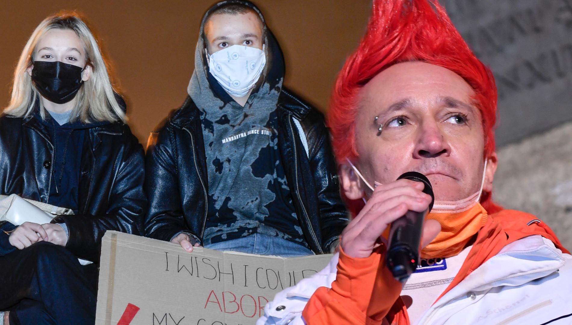 Michał Wiśniewski z DZIEĆMI na marszu Daj Żyć Kulturze. Kto jeszcze się pojawił?  (ZDJĘCIA)