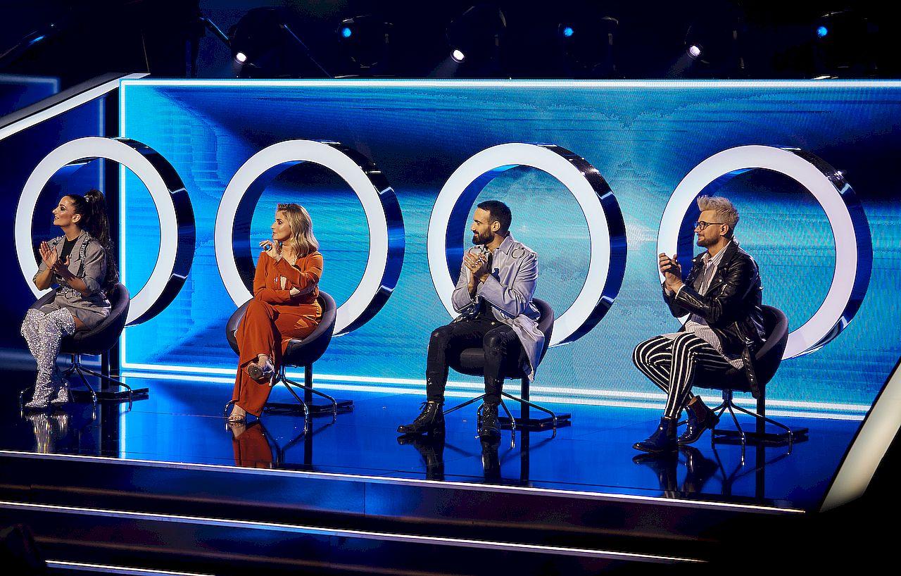 """Jury programu """"The Four"""""""