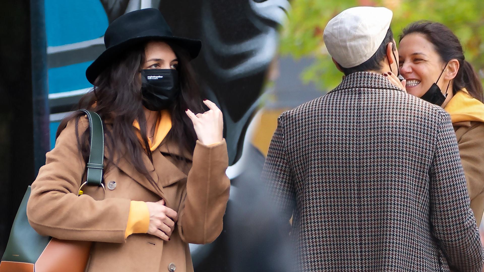 Katie Holmes kwitnie przy nowym partnerze. Widać SZCZĘŚCIE na jej twarzy!