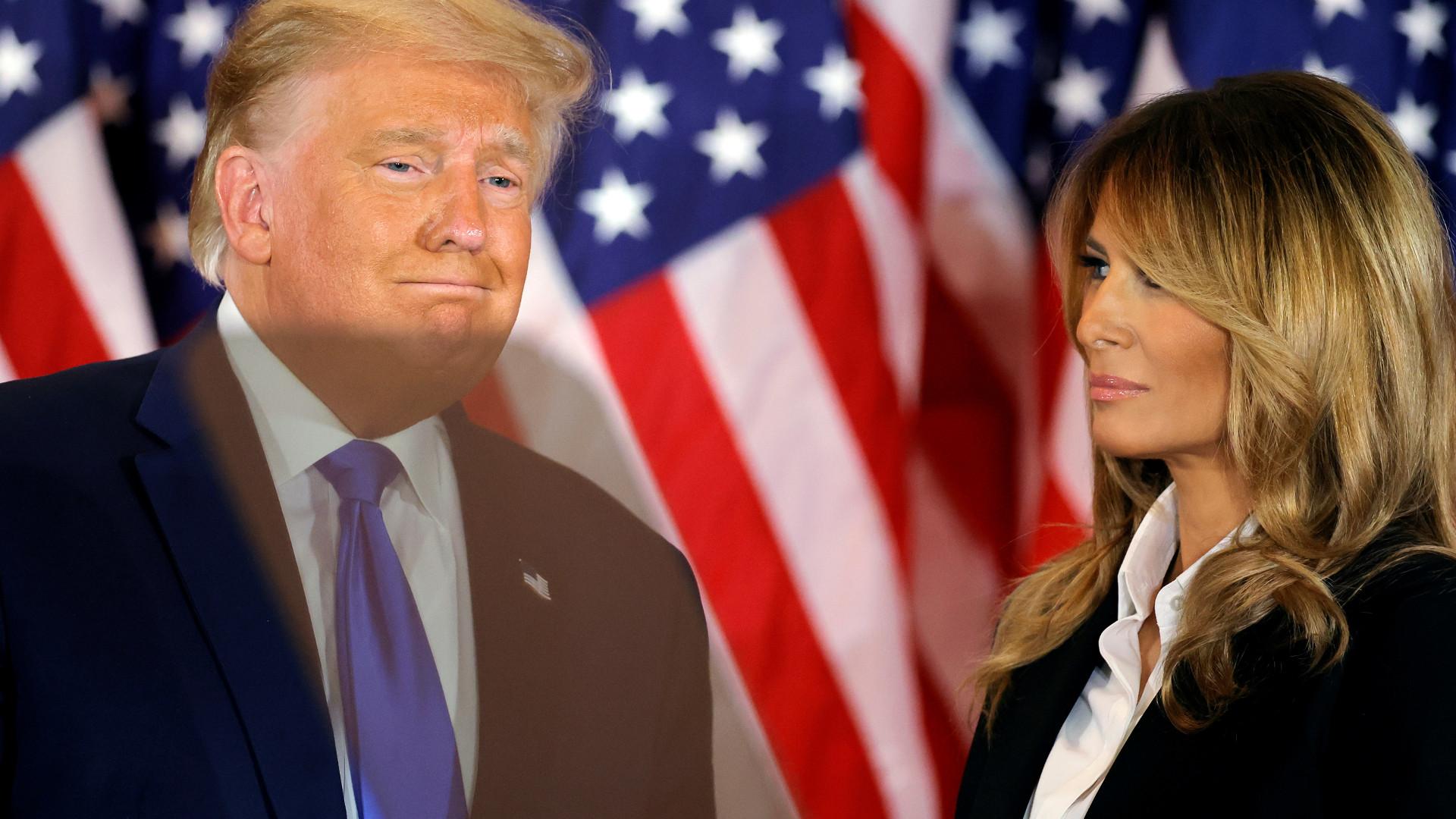 Zdjęcie Trumpów znów HITEM sieci. Pokazuje, jaki Donald ma stosunek do Melanii