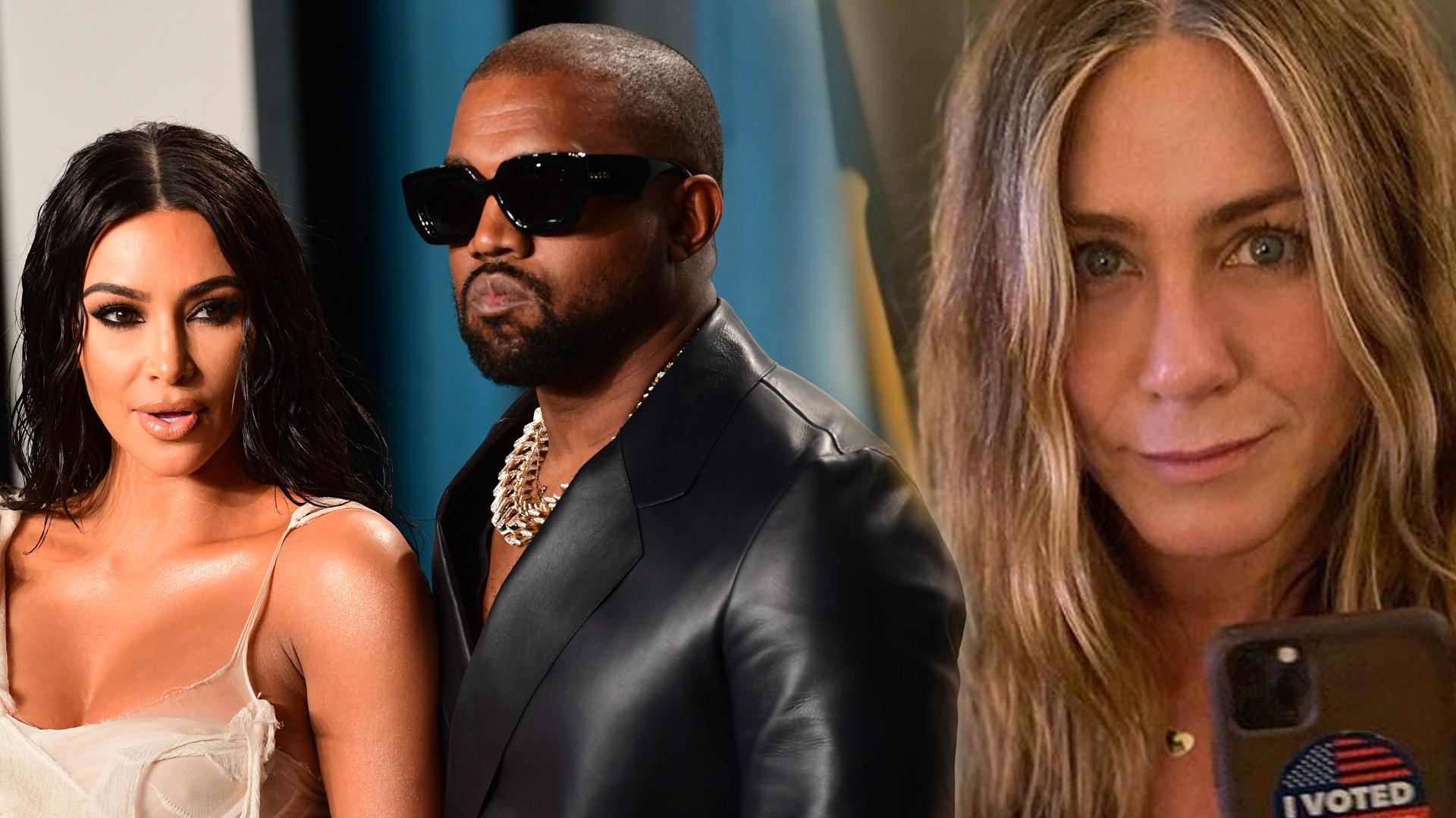 Kim Kardashian i Kanye West są WŚCIEKLI na Jennifer Aniston
