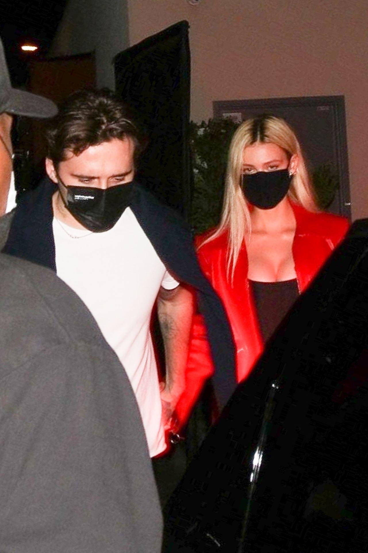Brooklyn Beckham i Nicola Peltz na randce