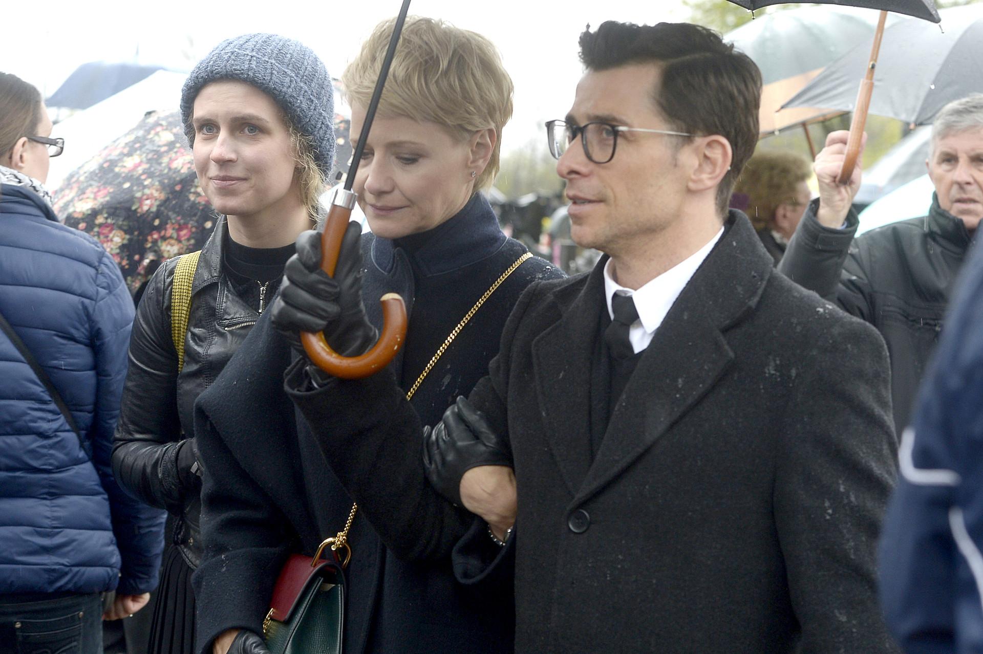 Marcjanna Lelek, Małgorzata Kożuchowska, Kacper Kuszewski, fot. Niemiec/AKPA