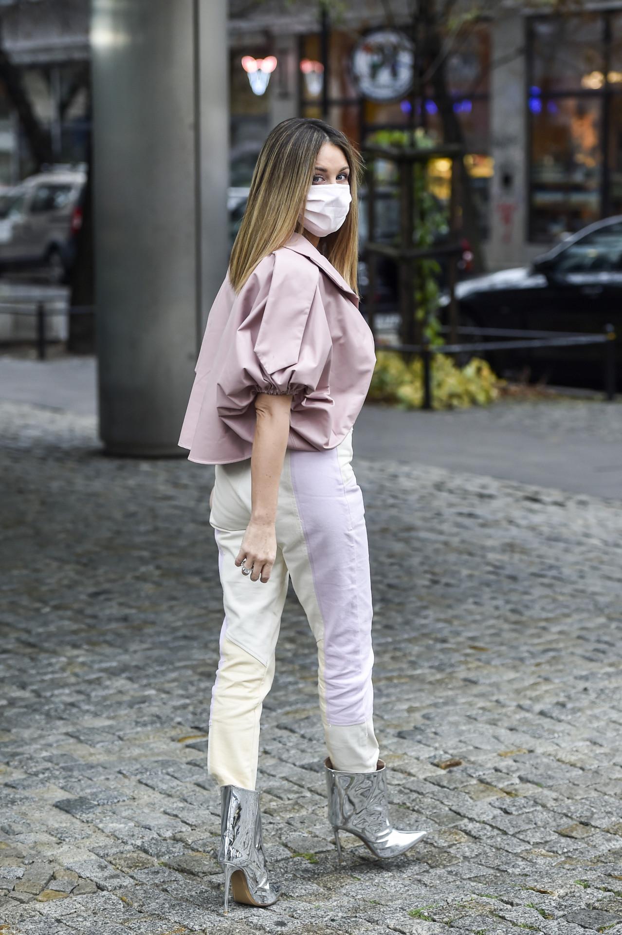 Różowa Małgrzata Rozenek, fot. AKPA