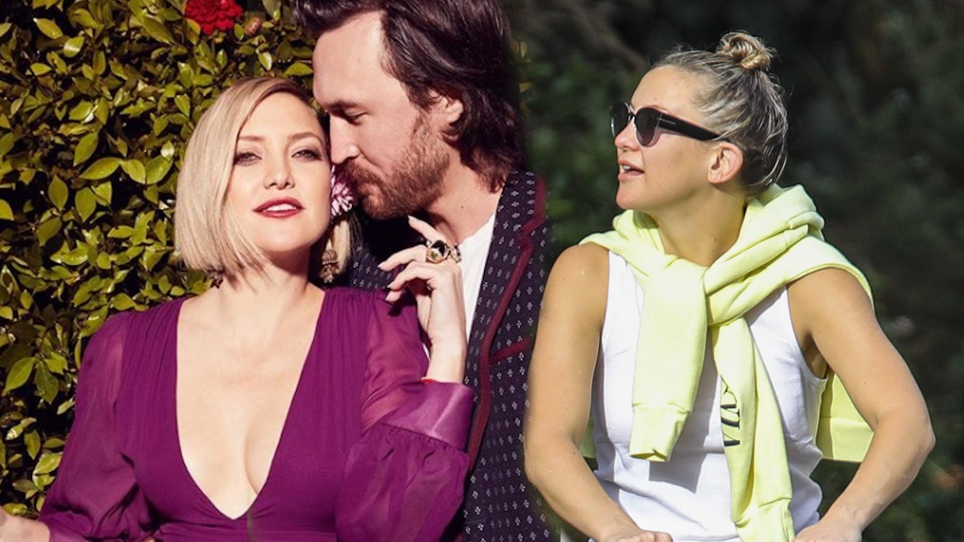 Kate Hudson spaceruje z partnerem i córką po LA. Nie poznalibyśmy jej (ZDJĘCIA)