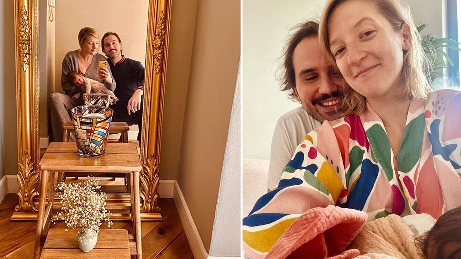 Naga od pasa w górę Lara Gessler pokazała INTYMNE zdjęcie z karmienia córki