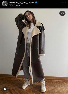 Sara Boruc pokazała swój płaszcz