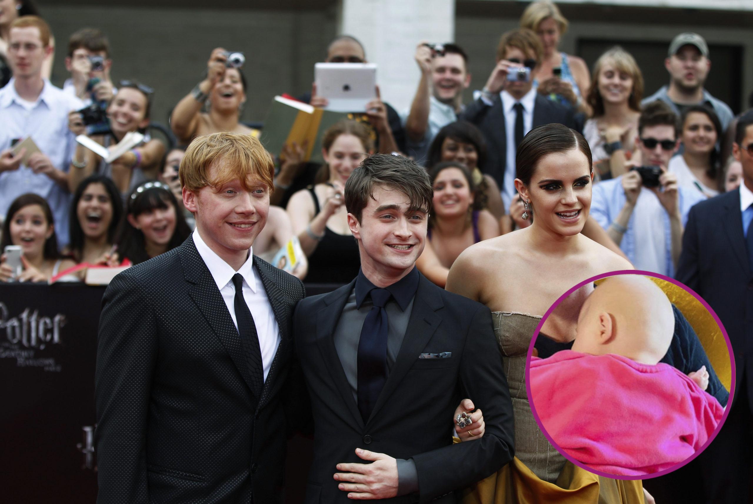 """Gwiazdor """"Harry'ego Pottera"""" założył Instagrama! Od razu pokazał córeczkę"""