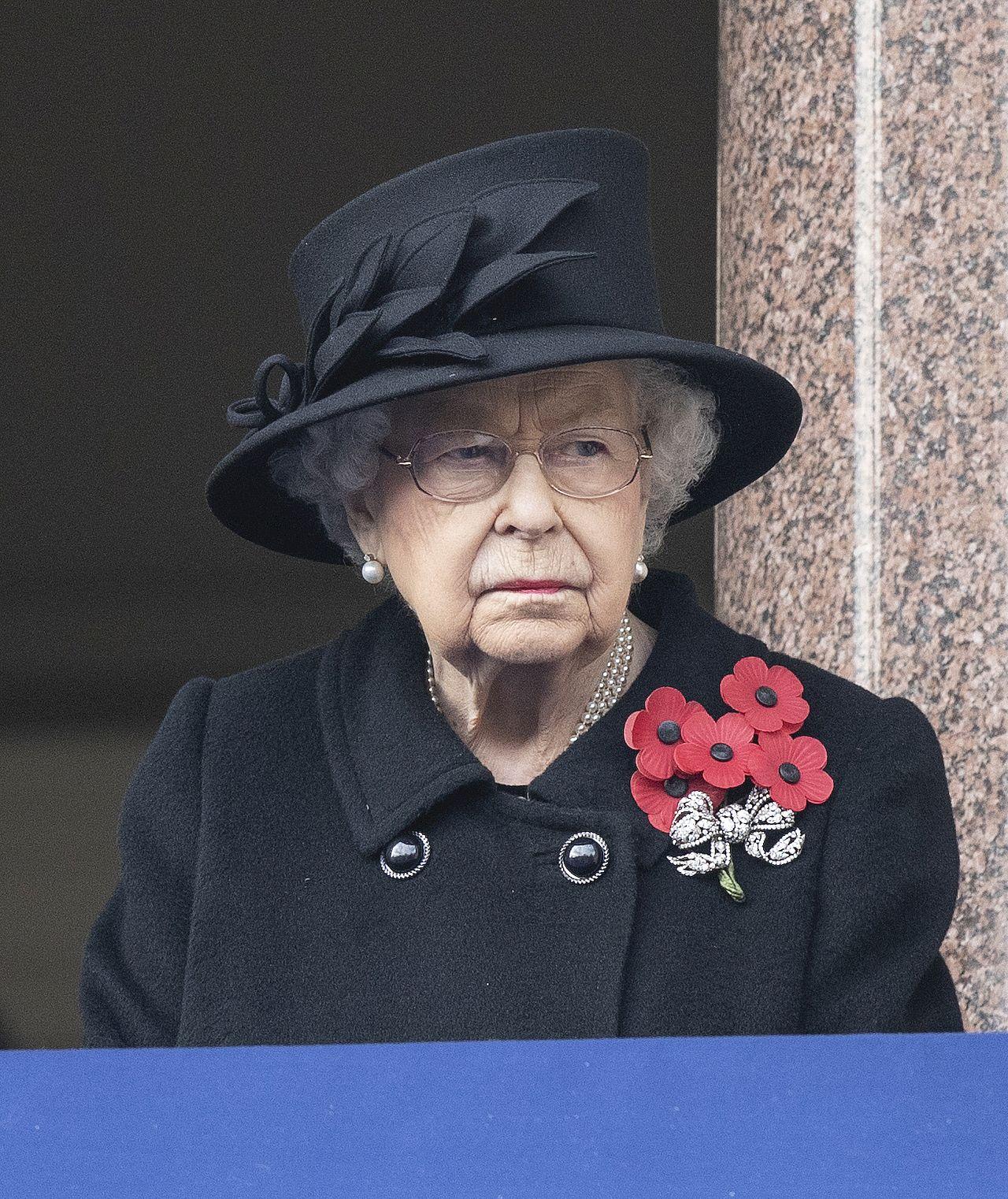 Królowa Elżbieta na Dniu Pamięci