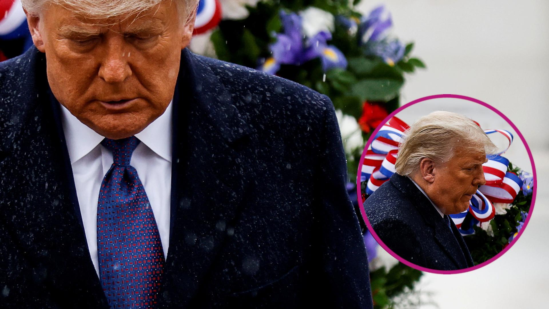 Donald Trump zmienił FRYZURĘ! Przestał farbować włosy?