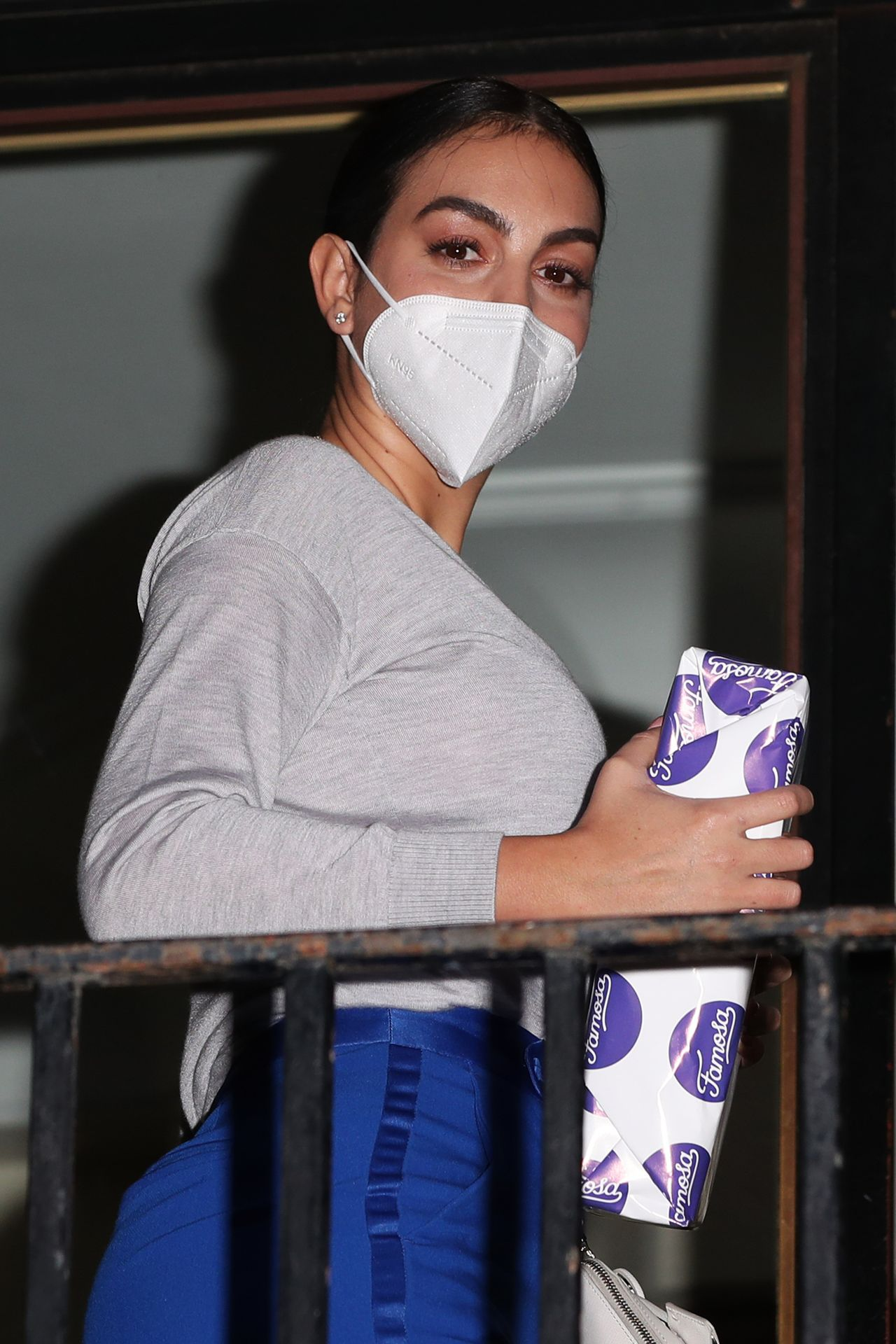 Georgina Rodriguez w maseczce