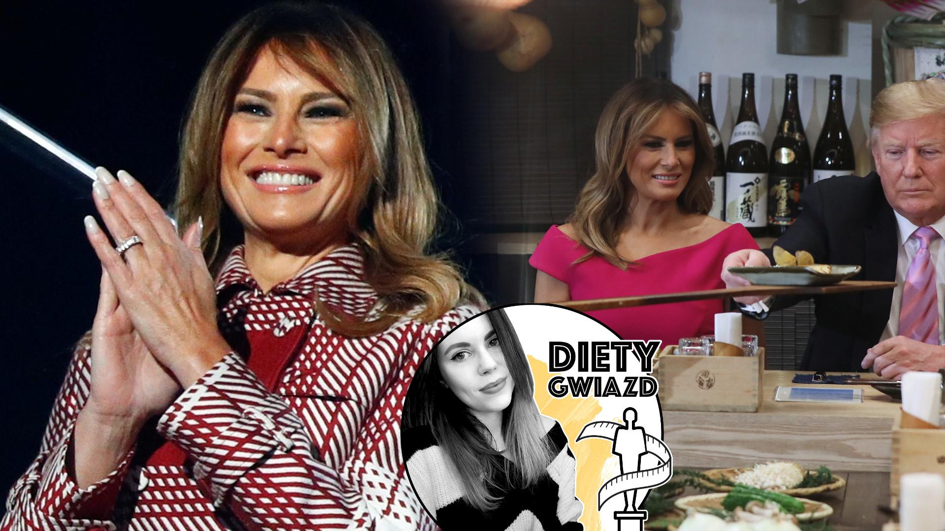 Dieta byłej pierwszej damy i modelki – jak odżywia się Melania Trump? (DIETY GWIAZD)