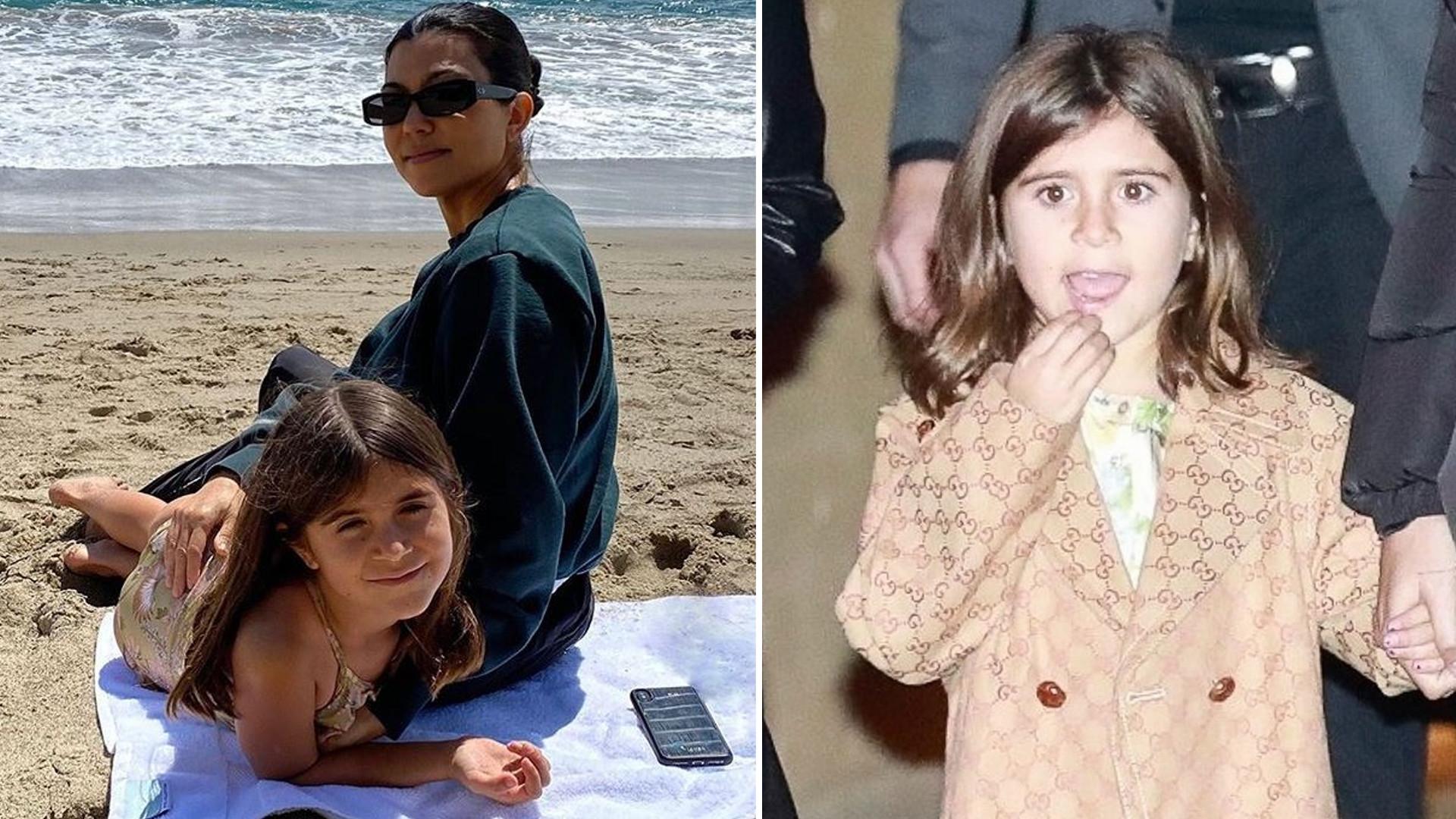 7-letnia córka Kourtney Kardashian, Penelope chodzi w butach na obcasie