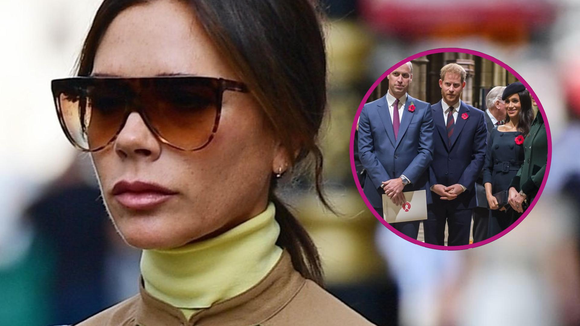 Victoria Beckham wymyśliła, jak uratować monarchię. Ma to związek ze ślubem jej syna