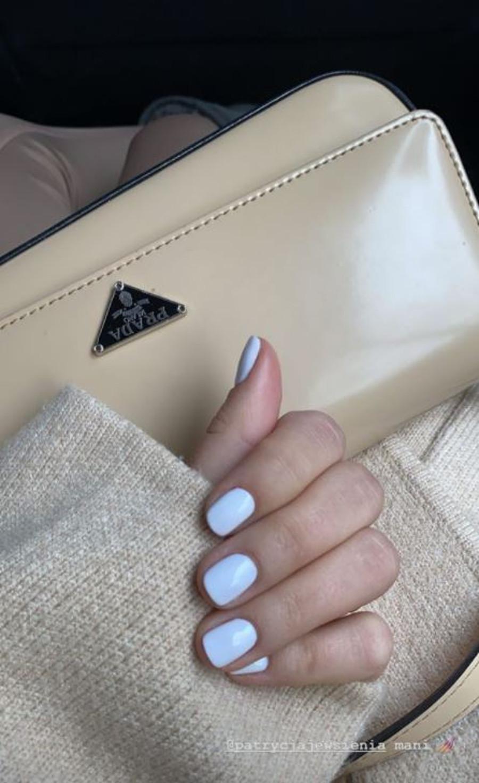 Julia Wieniawa pokazała klasyczny manicure.