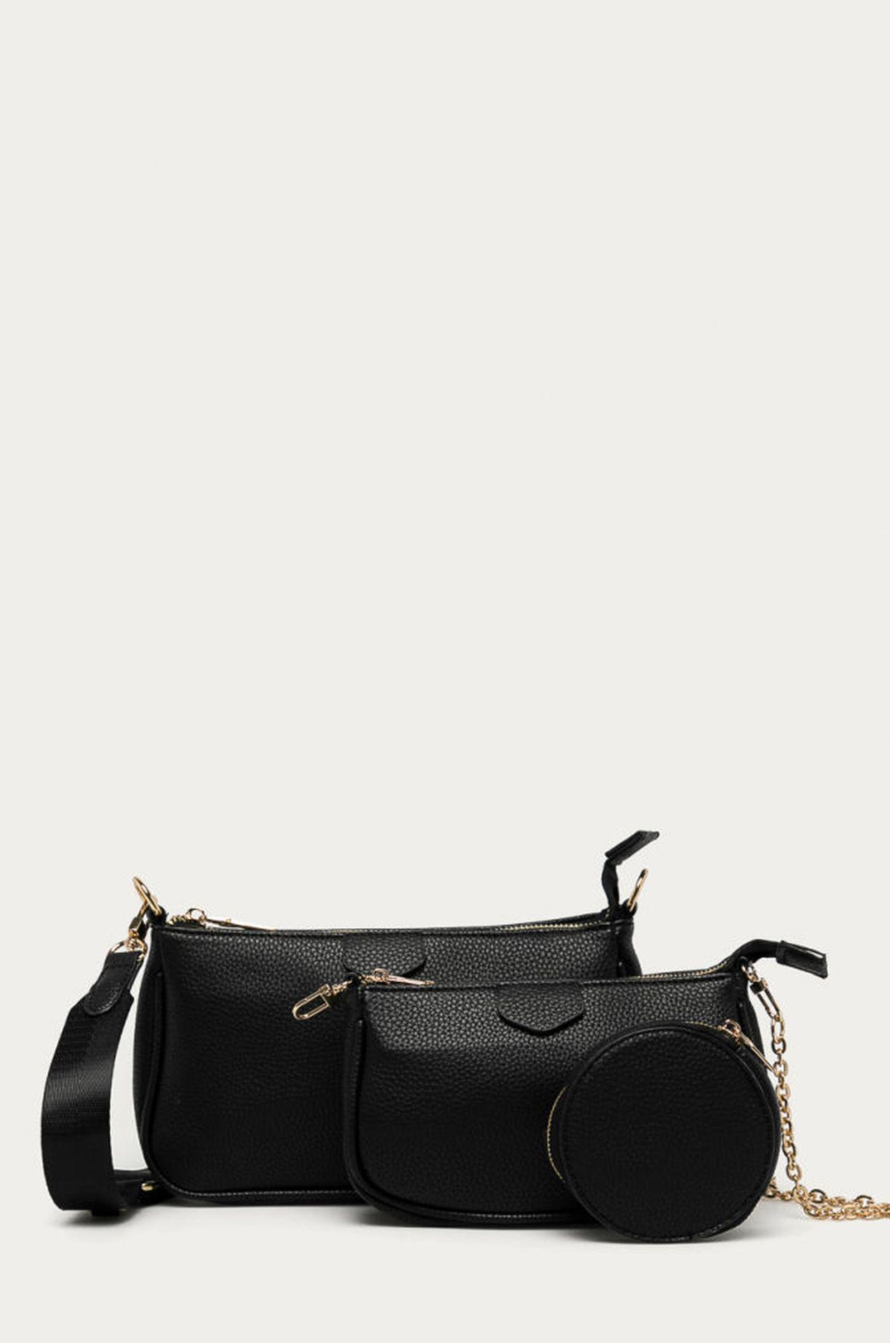 Małe torebki w czarnym kolorze