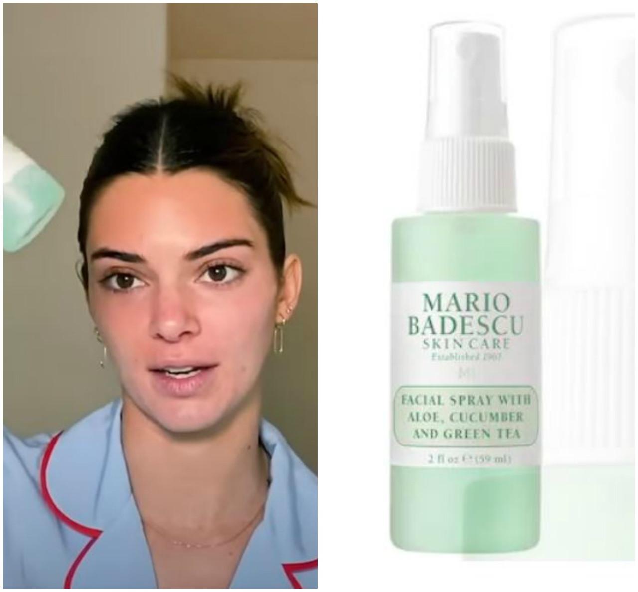 Ulubione kosmetyki Kendall Jenner do pielęgnacji cery.