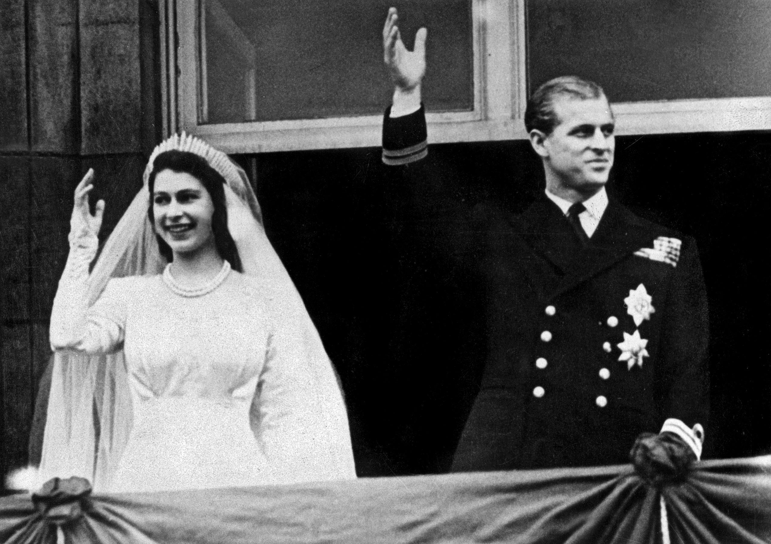Rocznica ślubu Elżbiety II