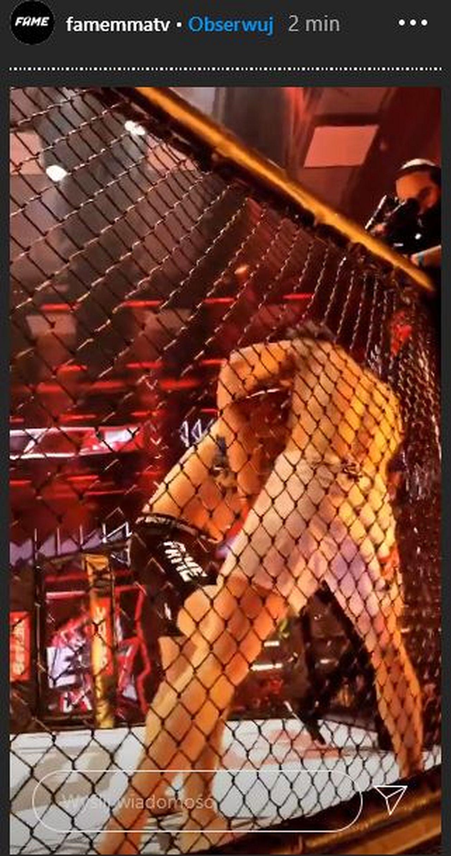 Marcin Dubiel i Kacper Blonsky na Fame MMA 8