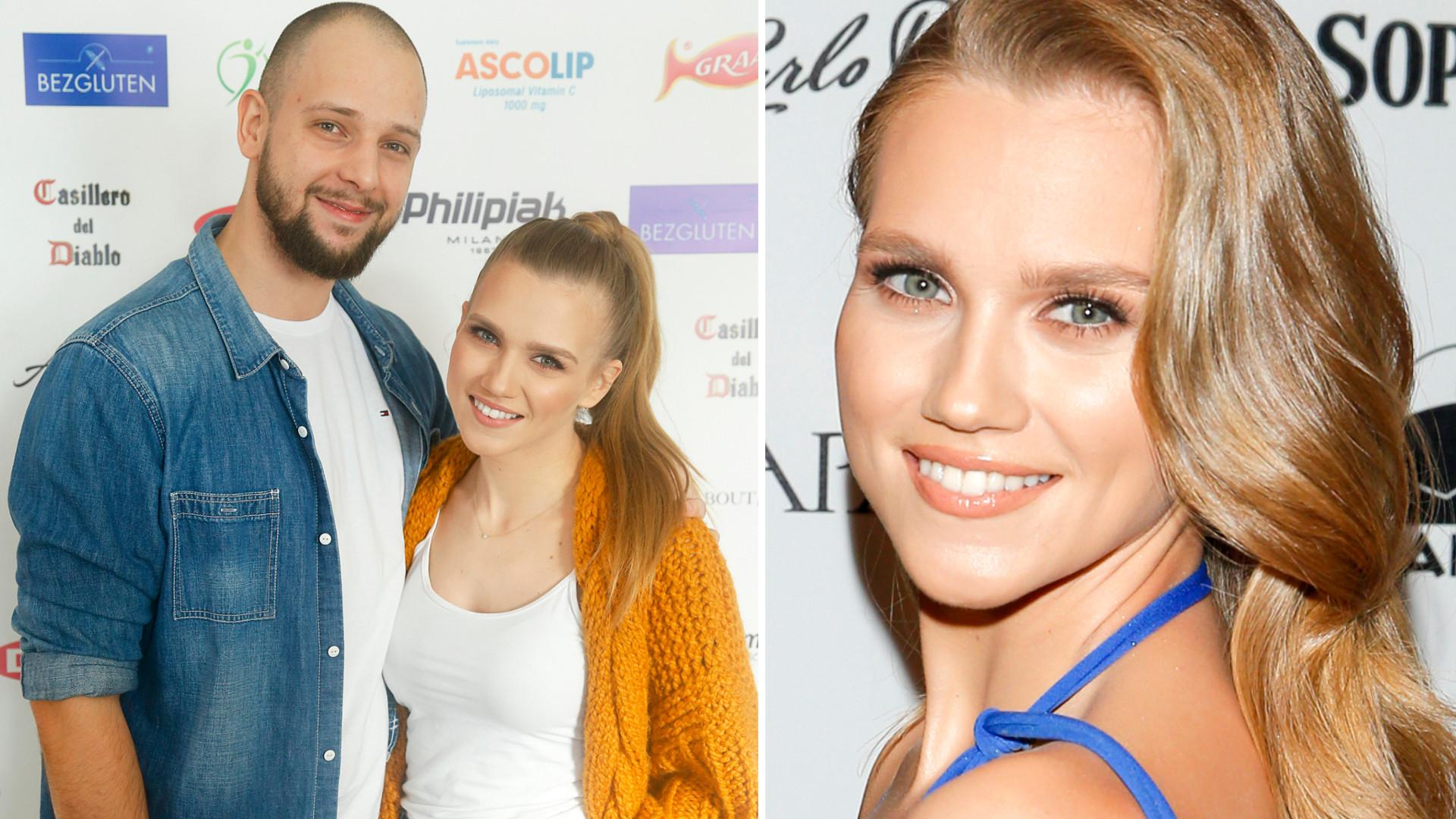 Agnieszka Kaczorowska w białej sukni świętuje urodziny męża. Pokazała ELEGANCKI tort