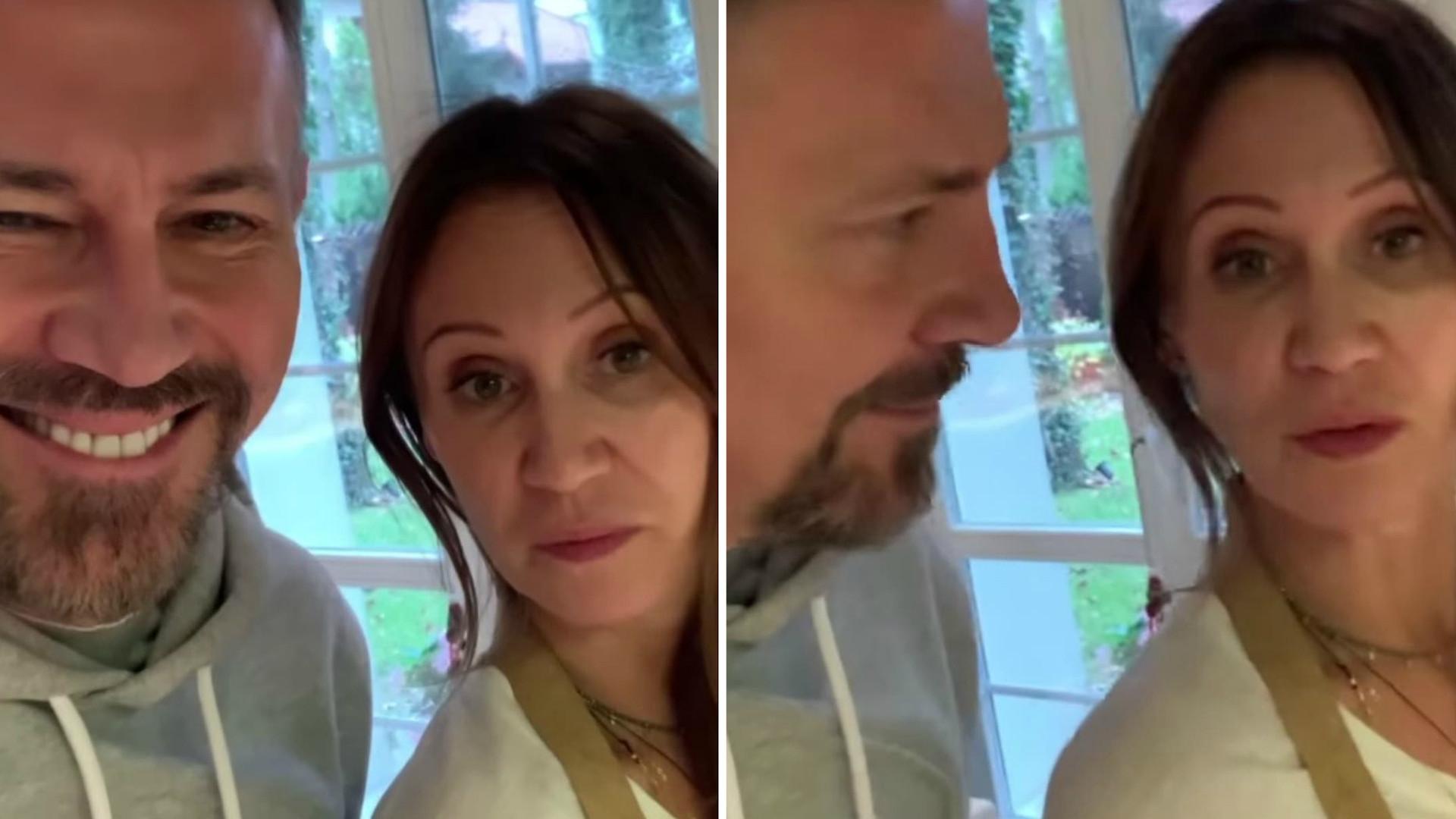 """Krzysztof Ibisz relacjonuje wizytę u byłej ŻONY. """"Wpadłem do Ex na obiad"""""""