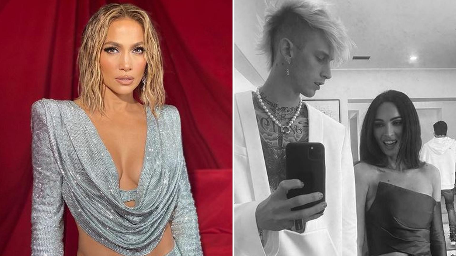 American Music Awards: Zjawiskowa Jennifer Lopez, Megan Fox i Machine Gun Kelly debiutują jako para (ZDJĘCIA)