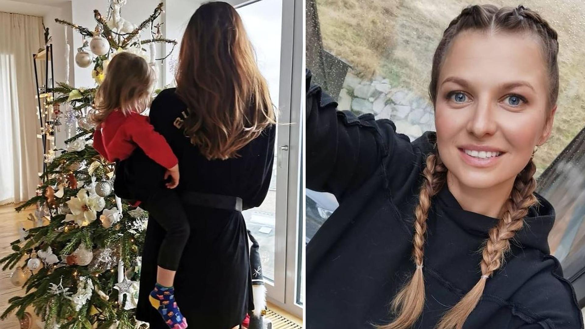 Anna Lewandowska ubrała CHOINKĘ. Lewa pokazała też ozdoby świąteczne