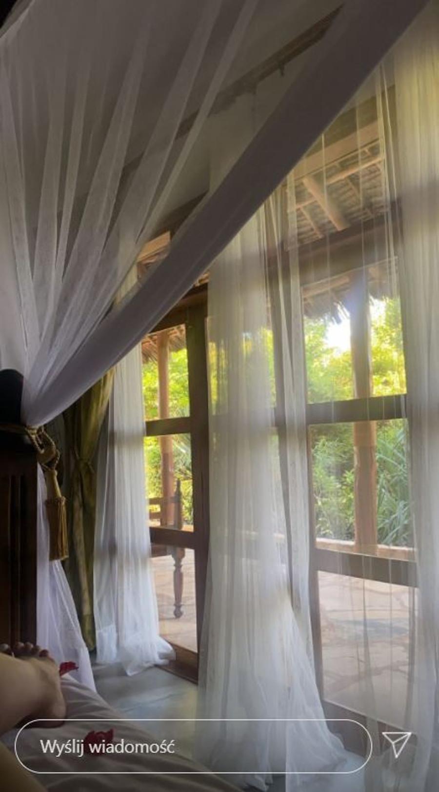 Julia Wieniawa wypoczywa na Zanzibarze.