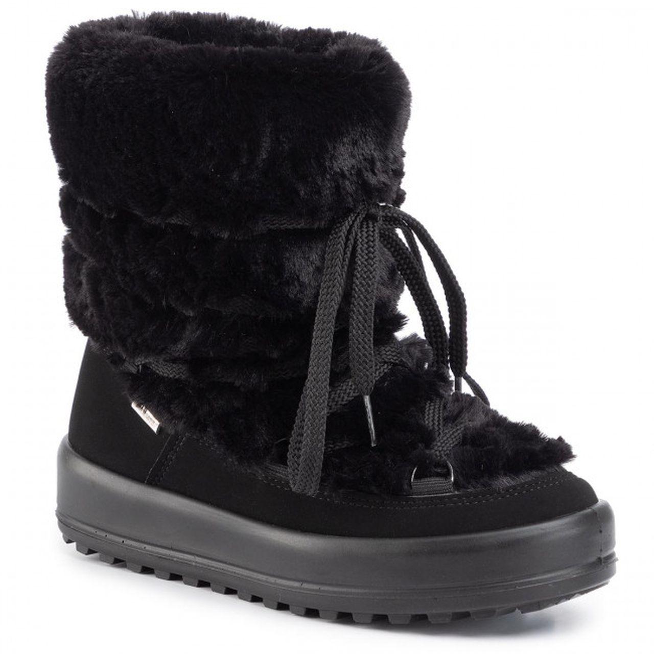 Czarne śniegowce