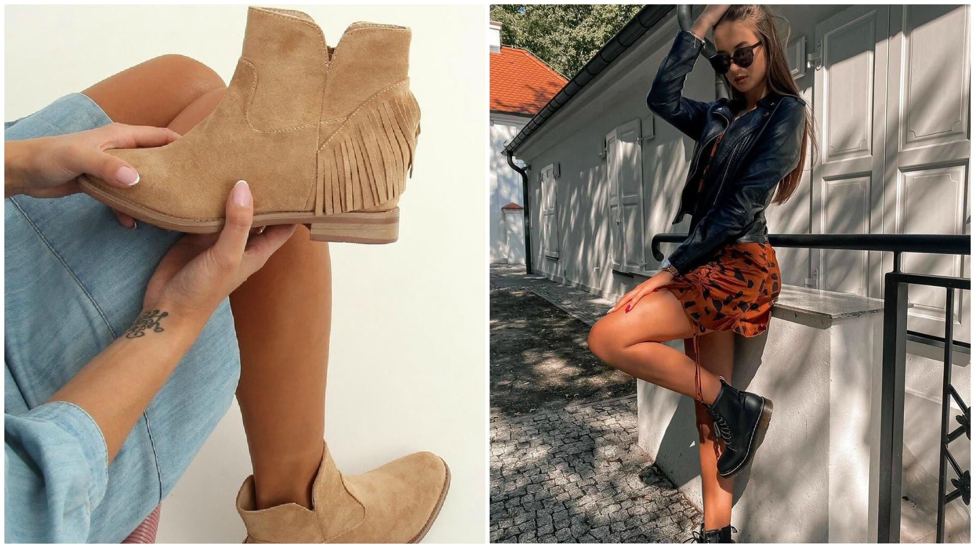 Botki: najwygodniejsze buty na jesień. Poznaj najmodniejsze kolory!