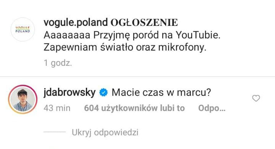 Jan Dąbrowski wyjawił datę porodu Sylwii Przybysz.